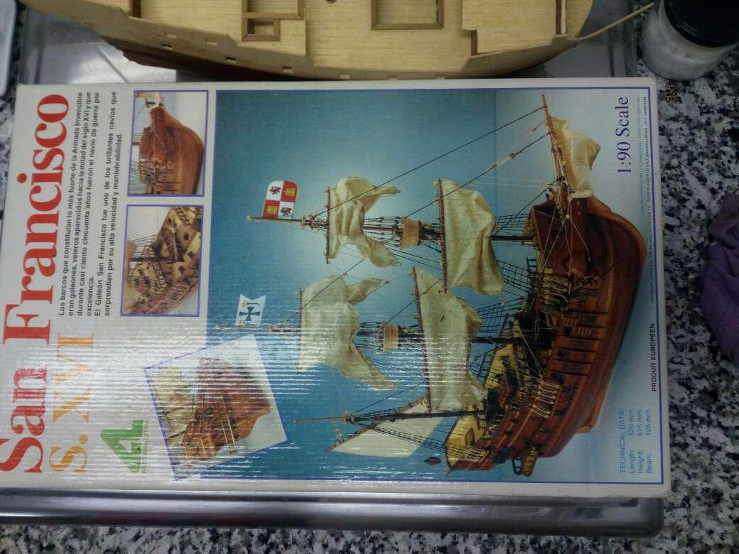 Imagen Maqueta barco San Francisco S. XVI