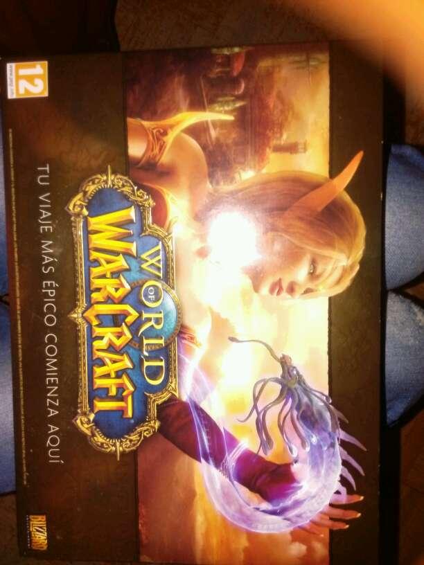 Imagen world of warcraft el juego + libro