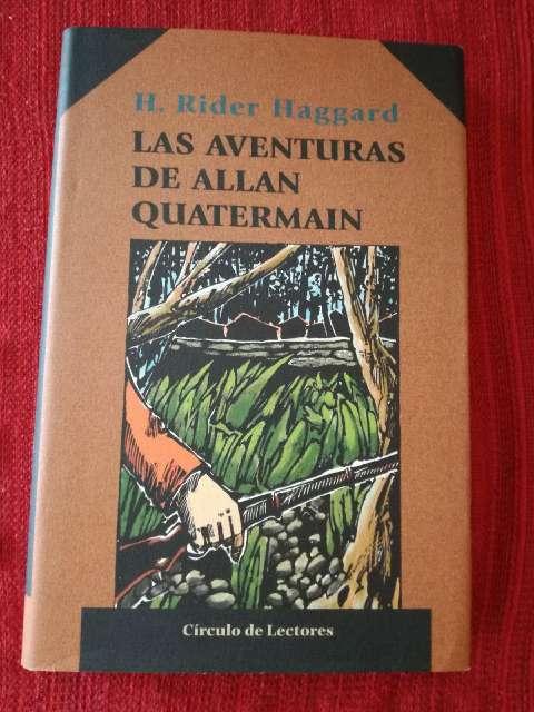 Imagen Aventuras de Allan Quatermain, Henry Rider Haggard