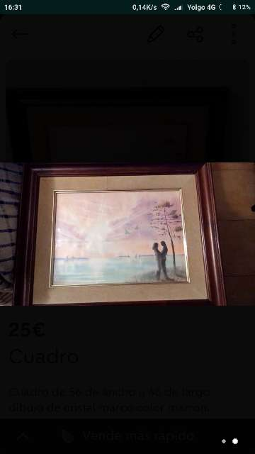 Imagen cuadro de cristal