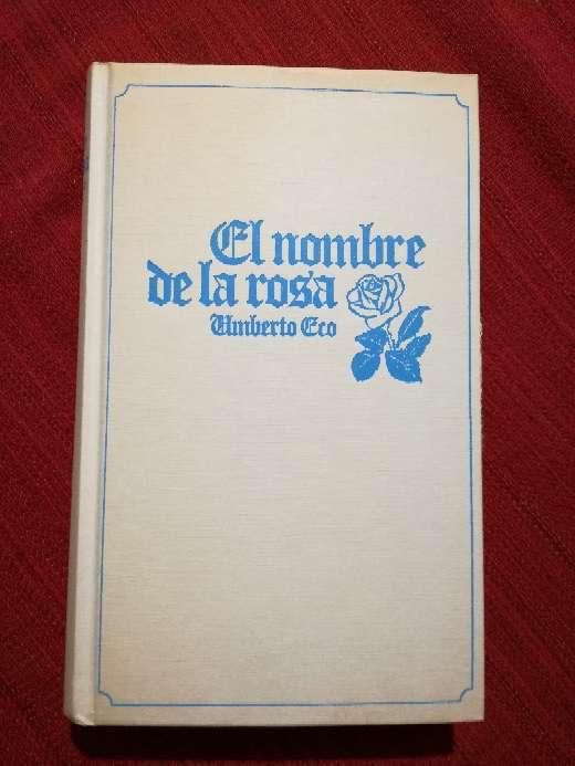 Imagen El nombre de la rosa, Umberto Eco