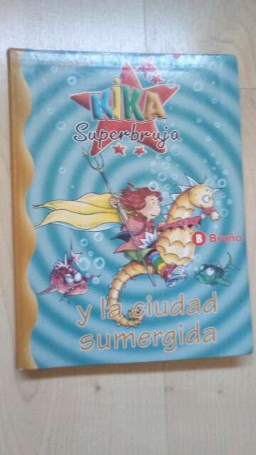 Imagen colección de libros Kika superbruja