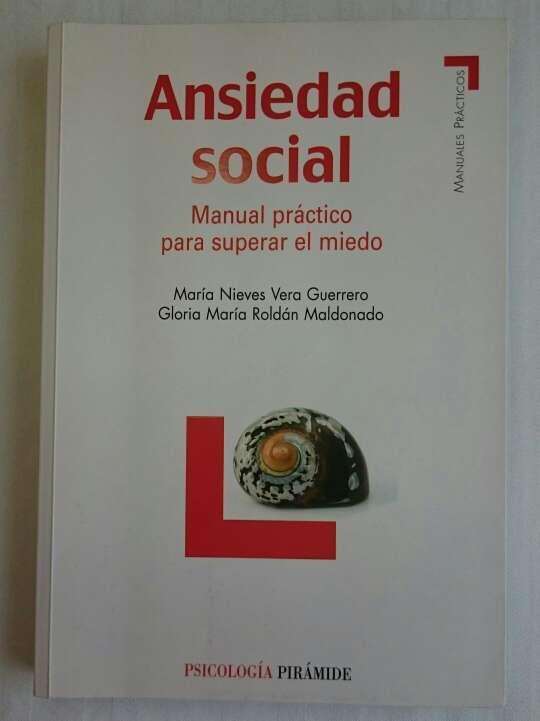 Imagen Libro Psicología: Ansiedad Social