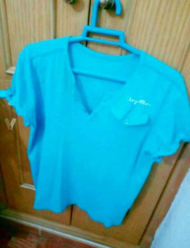 Imagen camiseta azul