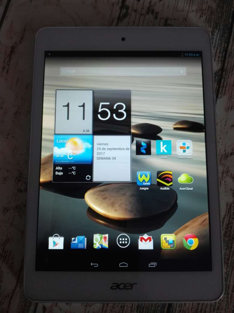 Imagen producto Tablet Acer Iconia 3