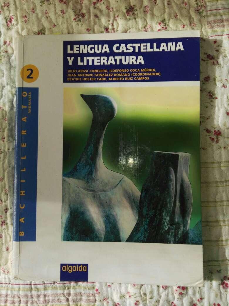 Imagen Libro Lengua 2°bachillerato