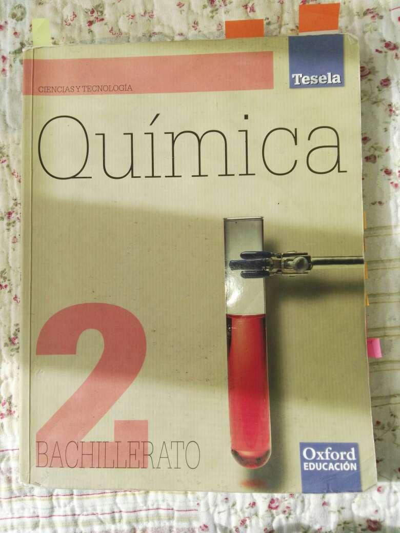 Imagen Libro Química 2°bachillerato