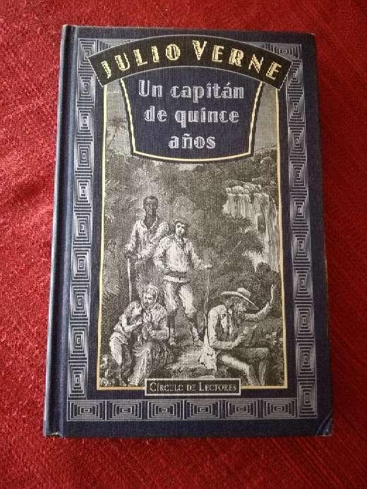 Imagen Un capitán de quince años, Julio Verne