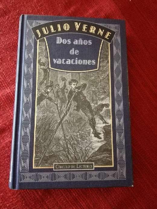 Imagen Dos años de vacaciones, Julio Verne