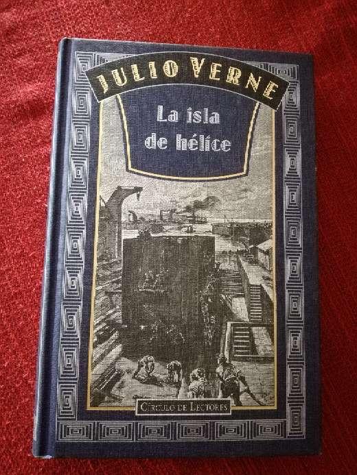 Imagen La isla de Hélice, Julio Verne