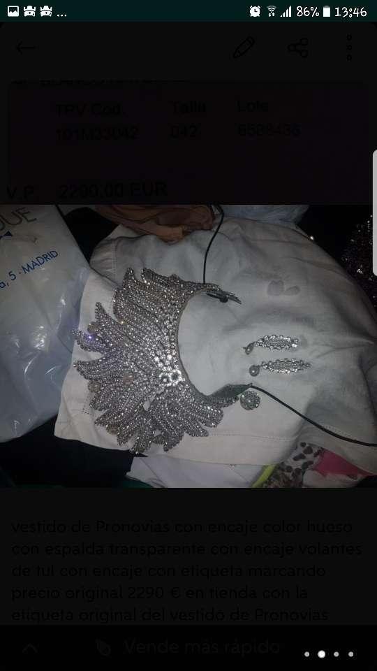 Imagen producto Vestido de novia de pronovias 4