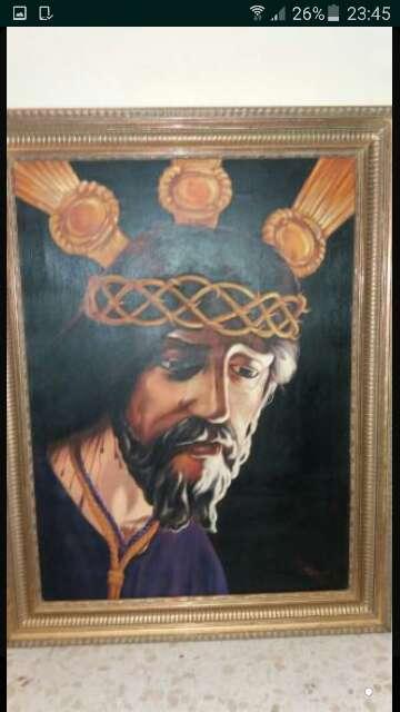 Imagen pintura del nazareno