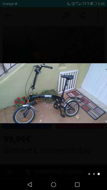 Imagen Bicicleta desmontable