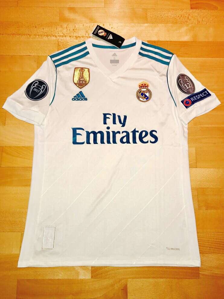 Imagen producto Camiseta Real Madrid 2017-2018 1