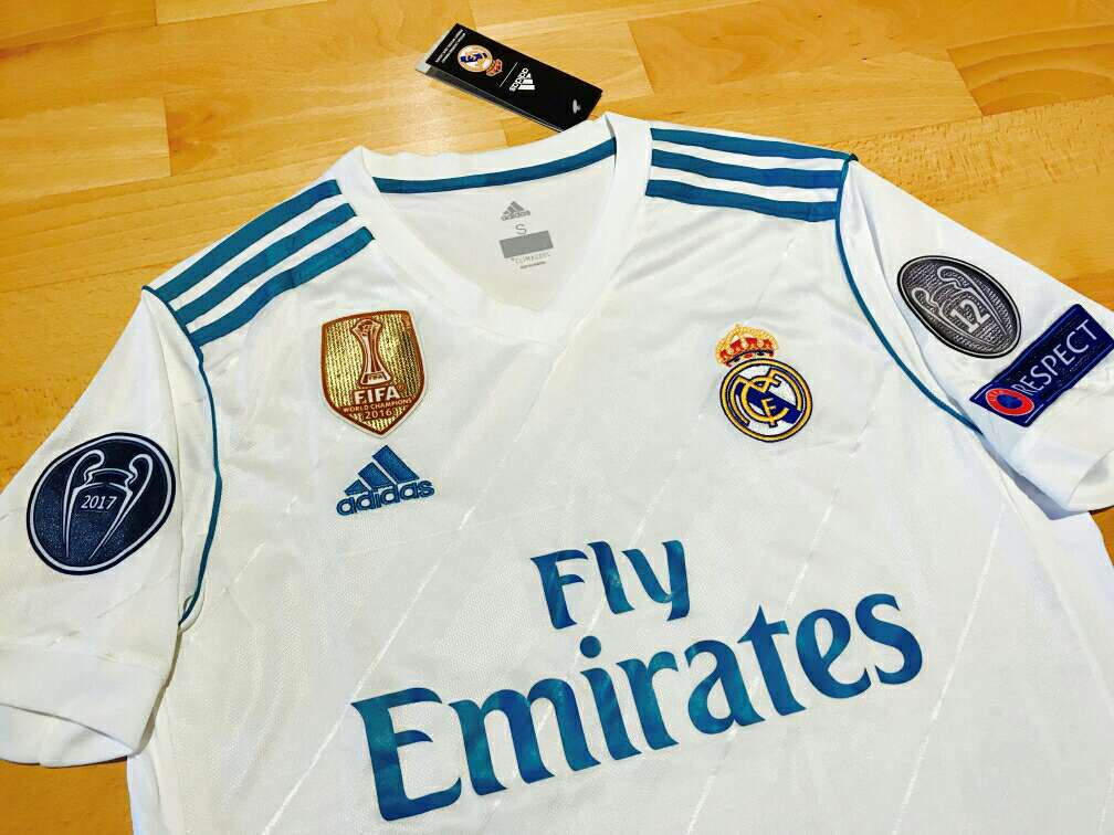 Imagen producto Camiseta Real Madrid 2017-2018 2