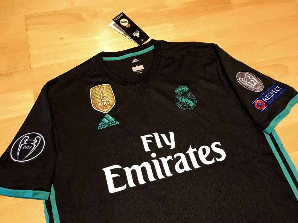 Imagen producto Camiseta Real Madrid 2017-2018 (Segunda equipación) 2
