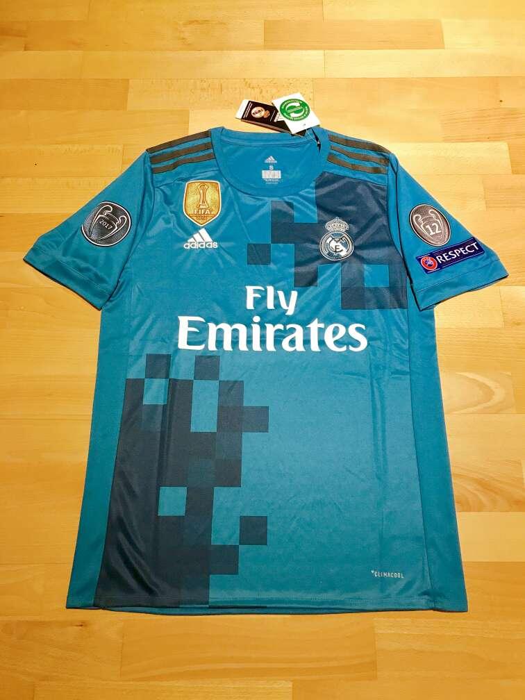 Imagen Camiseta Real Madrid 2017-2018 (Tercera equipación)
