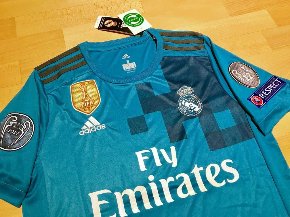 Imagen producto Camiseta Real Madrid 2017-2018 (Tercera equipación) 2