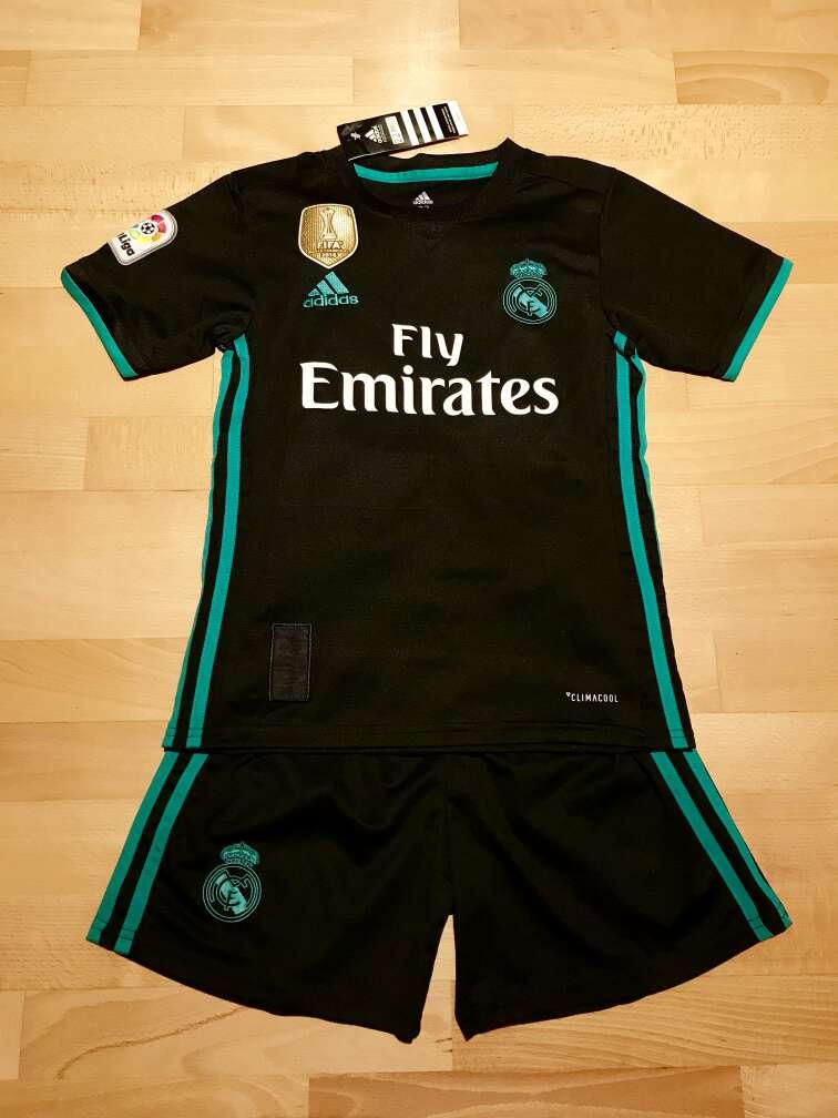 Imagen Equipación Real Madrid 2017-2018 para niños (Segunda equipación)