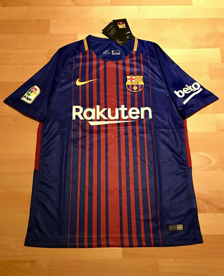 Imagen Camiseta F. C. Barcelona 2017-2018