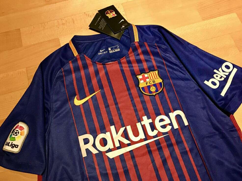 Imagen producto Camiseta F. C. Barcelona 2017-2018 2