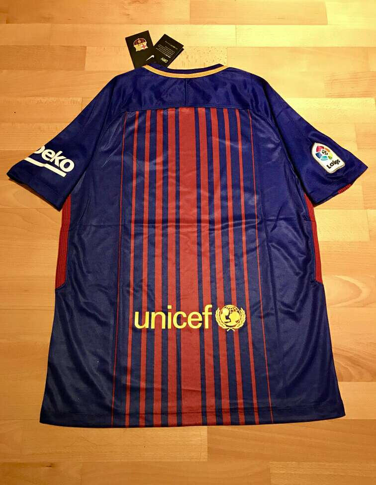 Imagen producto Camiseta F. C. Barcelona 2017-2018 3