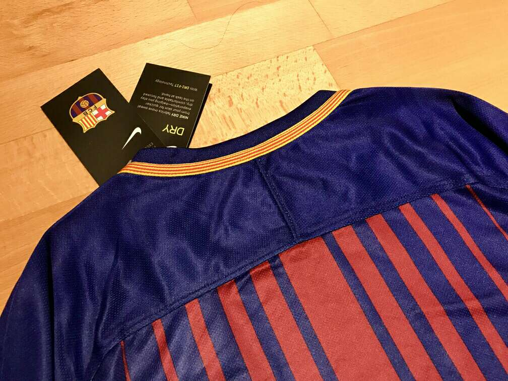 Imagen producto Camiseta F. C. Barcelona 2017-2018 4