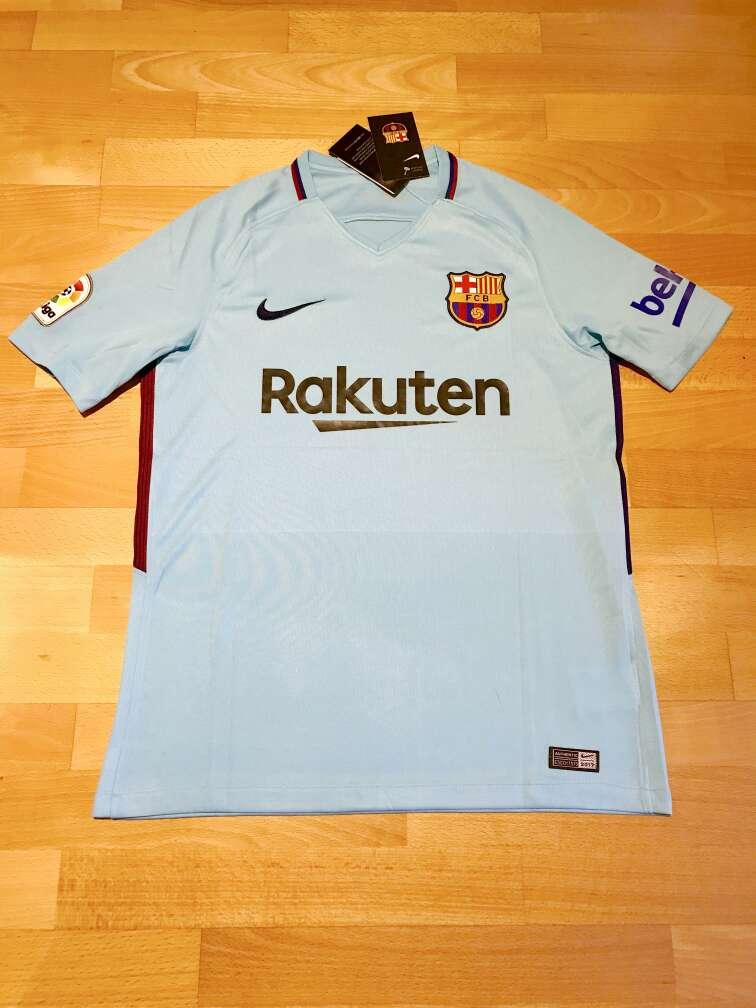 Imagen producto Camiseta F. C. Barcelona 2017-2018 (Segunda equipación) 1