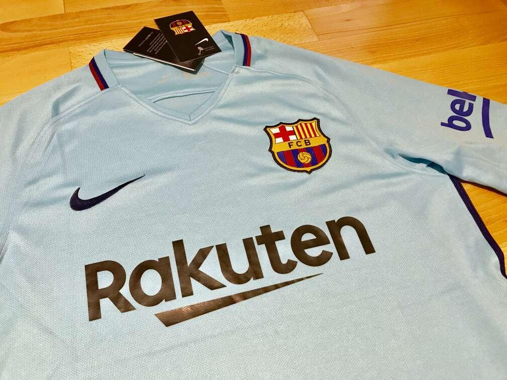 Imagen producto Camiseta F. C. Barcelona 2017-2018 (Segunda equipación) 2