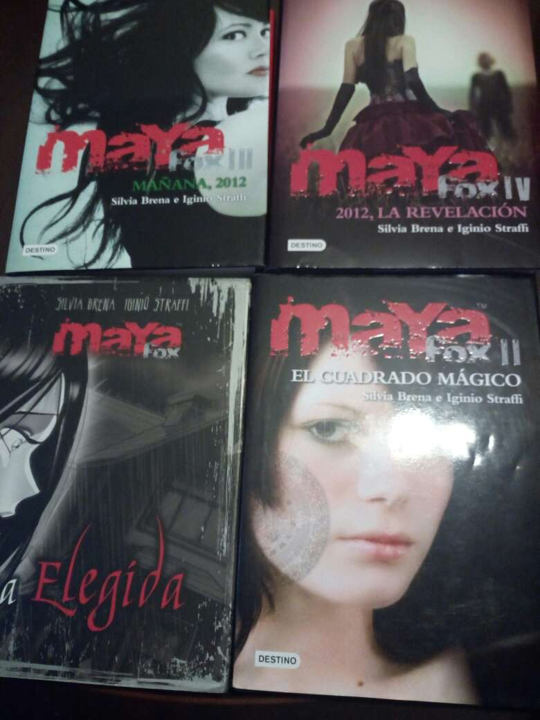 Imagen Saga juvenil - Maya Fox