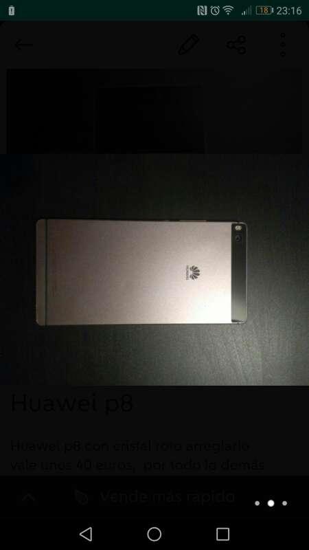 Imagen Huawei p8 no es el lite