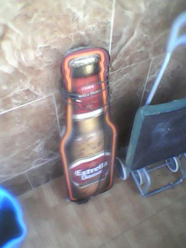 Imagen lámpara de cerveza