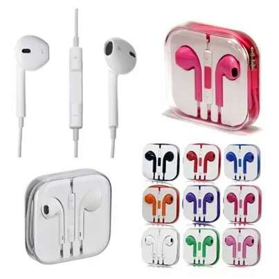 Imagen auriculares tipo iPhone