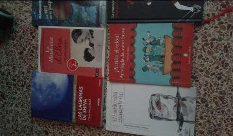 Imagen libros de lectura 1/2/3 ESO