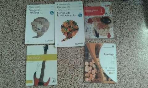 Imagen libros de 1/2/3 ESO
