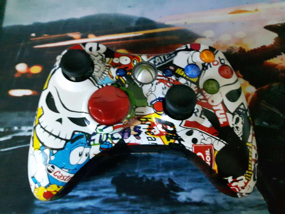 Imagen Mando Xbox 360. Modificado