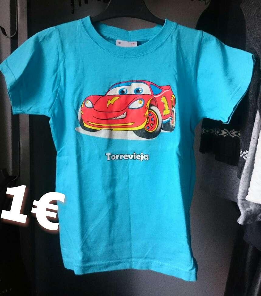 Imagen Camiseta Cars Disney