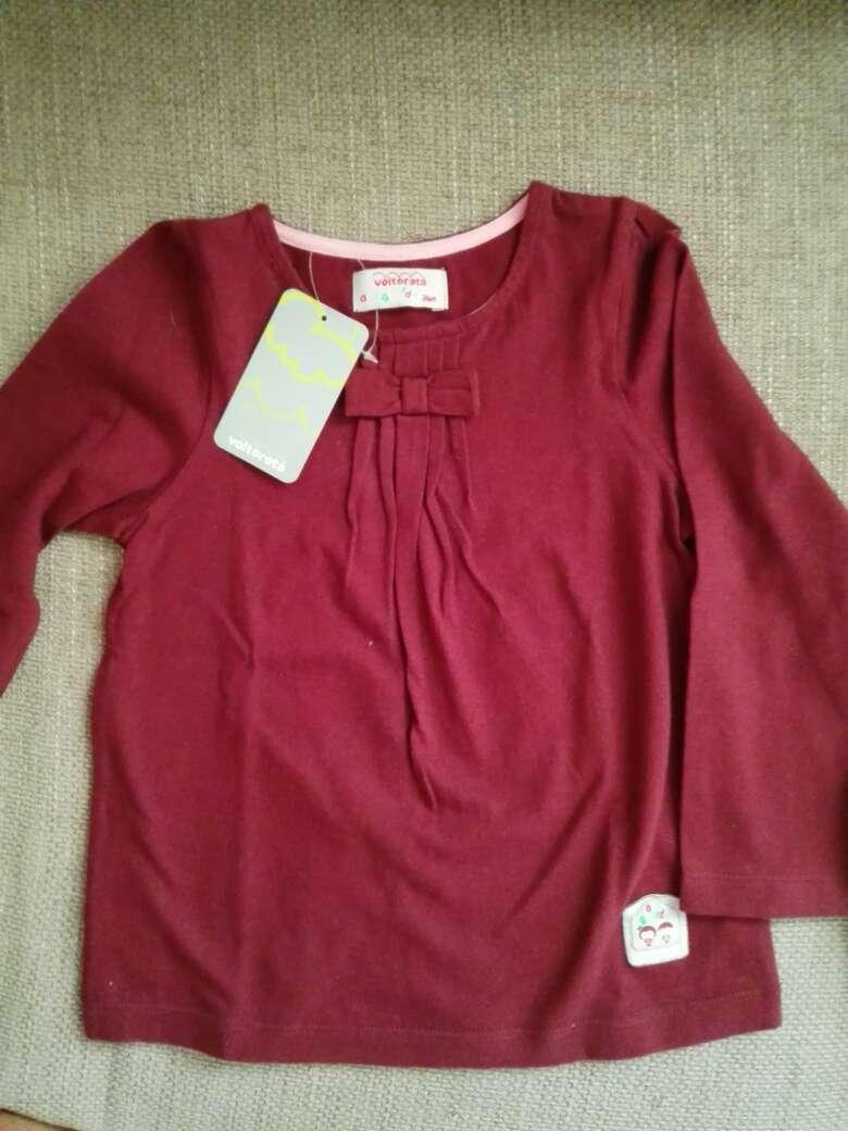 Imagen producto Camiseta niña Voltereta. Nueva! 1