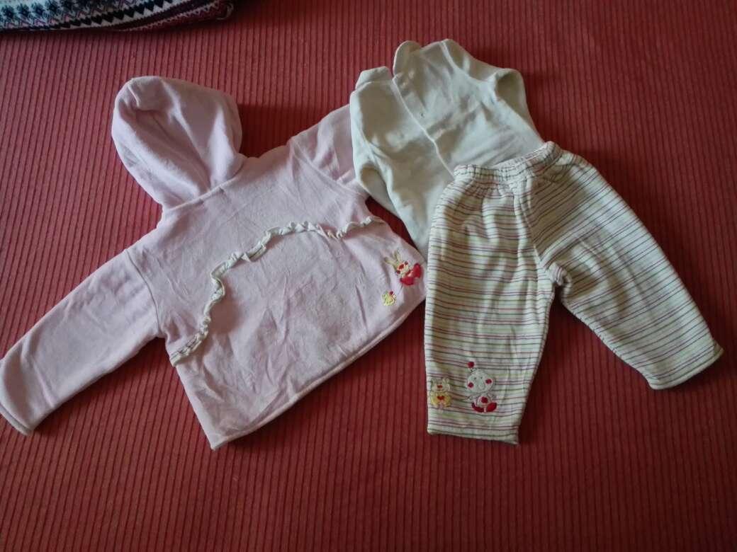 Imagen producto Conjunto invierno niña bebé 2