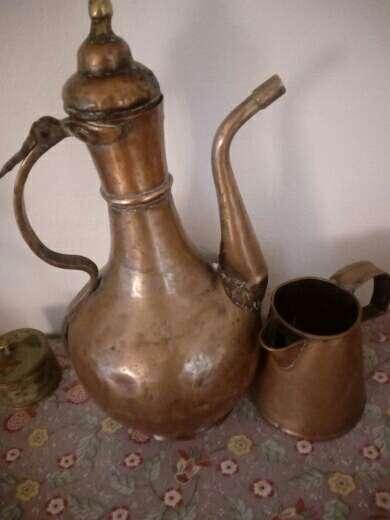 Imagen recipientes de cobre