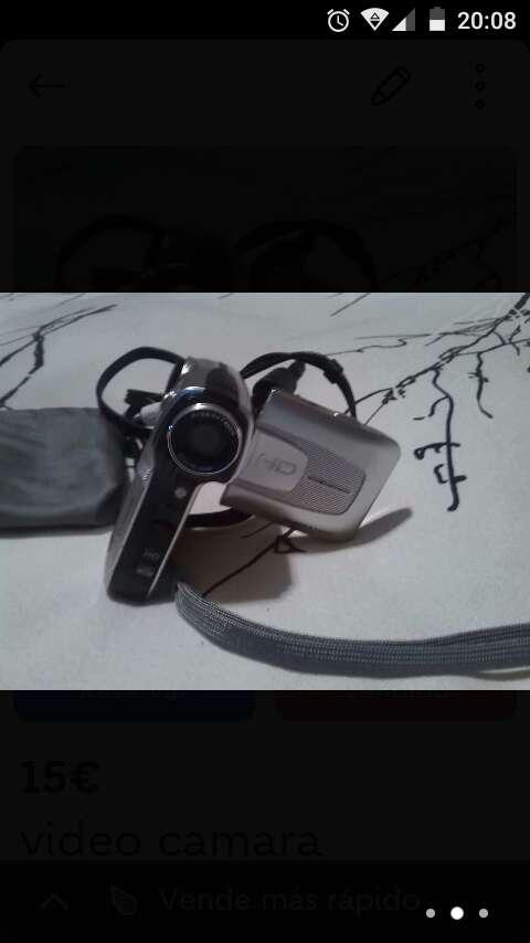 Imagen cámara de video