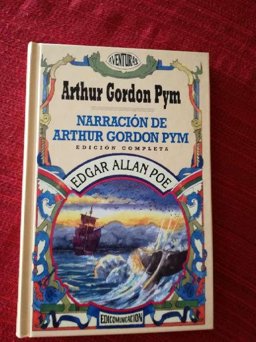 Imagen Narración de Arthur Gordon Pym, Edgar Allan Poe