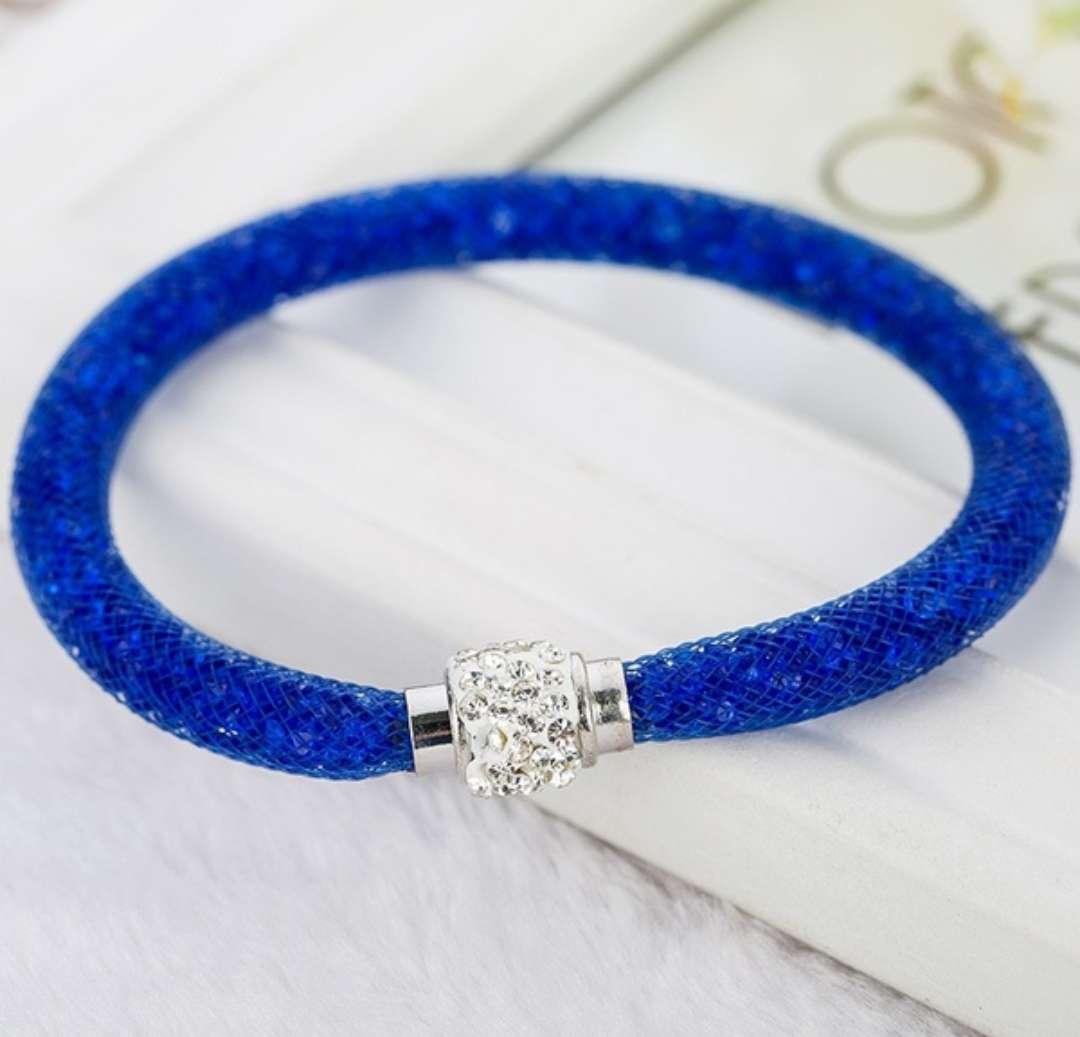 Imagen pulsera imantada azul