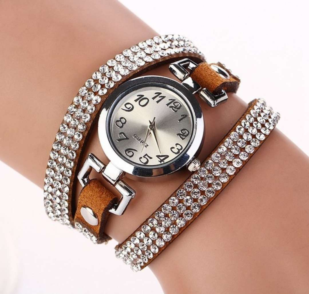 Imagen reloj pulsera marron