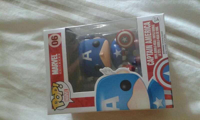 Imagen funko pop! nuevo capitán América