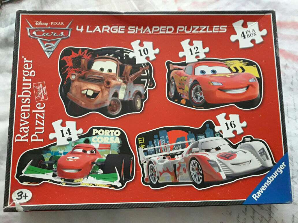 Imagen puzzle cars perfecto estado