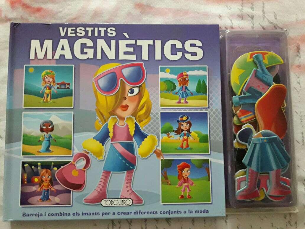 Imagen magnetics niña