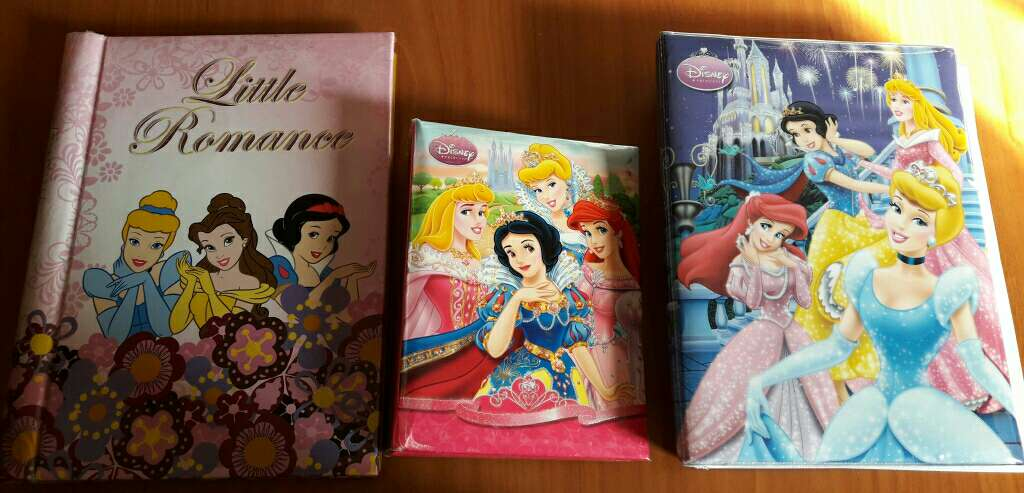 Imagen álbumes de princesas lote