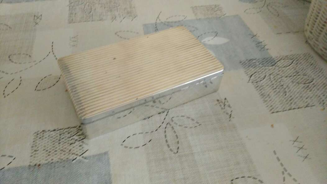 Imagen una caja de plata de lay 925