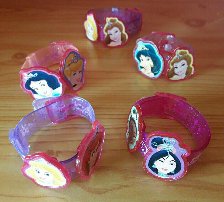 Imagen pulseritas niña princesas